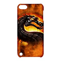 Dragon And Fire Apple Ipod Touch 5 Hardshell Case With Stand