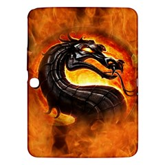 Dragon And Fire Samsung Galaxy Tab 3 (10 1 ) P5200 Hardshell Case