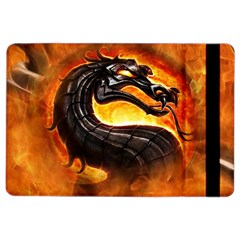 Dragon And Fire Ipad Air 2 Flip by BangZart