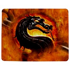 Dragon And Fire Jigsaw Puzzle Photo Stand (rectangular)