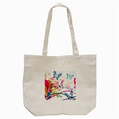 Butterfly Vector Art Tote Bag (cream)