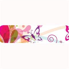 Butterfly Vector Art Large Bar Mats by BangZart