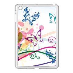 Butterfly Vector Art Apple Ipad Mini Case (white)