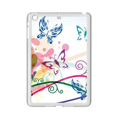 Butterfly Vector Art Ipad Mini 2 Enamel Coated Cases