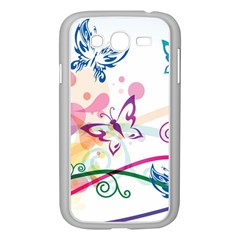 Butterfly Vector Art Samsung Galaxy Grand Duos I9082 Case (white)
