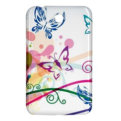 Butterfly Vector Art Samsung Galaxy Tab 3 (7 ) P3200 Hardshell Case