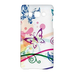 Butterfly Vector Art Samsung Galaxy A5 Hardshell Case