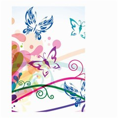 Butterfly Vector Art Small Garden Flag (two Sides) by BangZart