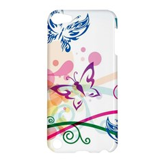 Butterfly Vector Art Apple Ipod Touch 5 Hardshell Case