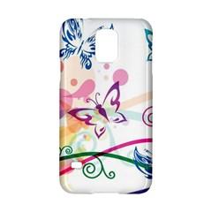 Butterfly Vector Art Samsung Galaxy S5 Hardshell Case