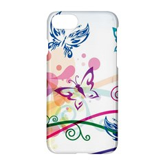 Butterfly Vector Art Apple Iphone 7 Hardshell Case