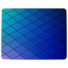 Blue Pattern Plain Cartoon Jigsaw Puzzle Photo Stand (rectangular) by BangZart