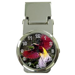 Cendrawasih Beautiful Bird Of Paradise Money Clip Watches