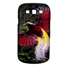 Cendrawasih Beautiful Bird Of Paradise Samsung Galaxy S Iii Classic Hardshell Case (pc+silicone) by BangZart