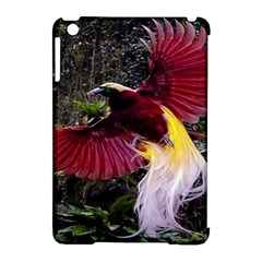Cendrawasih Beautiful Bird Of Paradise Apple Ipad Mini Hardshell Case (compatible With Smart Cover)