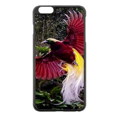 Cendrawasih Beautiful Bird Of Paradise Apple Iphone 6 Plus/6s Plus Black Enamel Case by BangZart