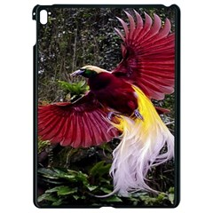 Cendrawasih Beautiful Bird Of Paradise Apple Ipad Pro 9 7   Black Seamless Case