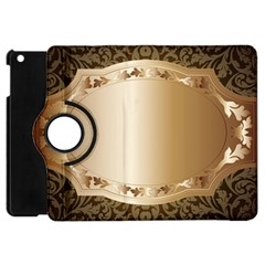 Floral 3 Apple Ipad Mini Flip 360 Case