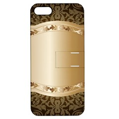 Floral 3 Apple Iphone 5 Hardshell Case With Stand