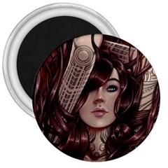 Beautiful Women Fantasy Art 3  Magnets