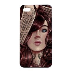 Beautiful Women Fantasy Art Apple Iphone 4/4s Seamless Case (black) by BangZart