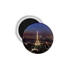 Paris At Night 1 75  Magnets