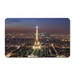 Paris At Night Magnet (rectangular)
