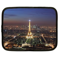 Paris At Night Netbook Case (xxl)  by BangZart
