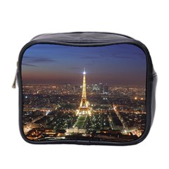Paris At Night Mini Toiletries Bag 2 Side by BangZart