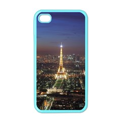 Paris At Night Apple Iphone 4 Case (color) by BangZart