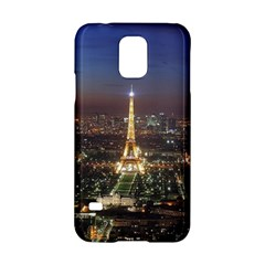 Paris At Night Samsung Galaxy S5 Hardshell Case