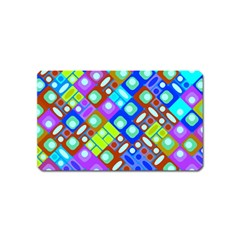 Pattern Factory 32b Magnet (name Card) by MoreColorsinLife