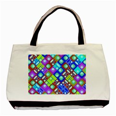 Pattern Factory 32b Basic Tote Bag by MoreColorsinLife