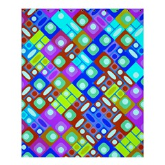 Pattern Factory 32b Shower Curtain 60  X 72  (medium)  by MoreColorsinLife