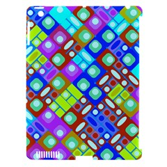 Pattern Factory 32b Apple Ipad 3/4 Hardshell Case (compatible With Smart Cover) by MoreColorsinLife