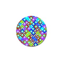 Pattern Factory 32b Golf Ball Marker (10 Pack) by MoreColorsinLife