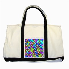 Pattern Factory 32b Two Tone Tote Bag by MoreColorsinLife