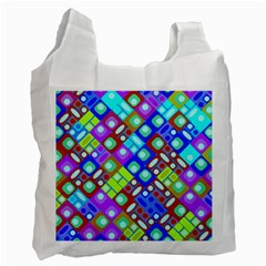Pattern Factory 32b Recycle Bag (one Side) by MoreColorsinLife