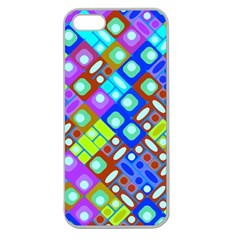 Pattern Factory 32b Apple Seamless Iphone 5 Case (clear) by MoreColorsinLife