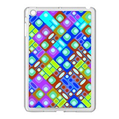 Pattern Factory 32b Apple Ipad Mini Case (white) by MoreColorsinLife