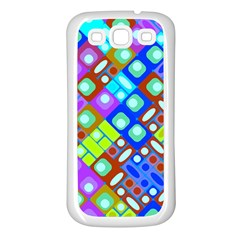 Pattern Factory 32b Samsung Galaxy S3 Back Case (white) by MoreColorsinLife