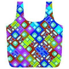 Pattern Factory 32b Full Print Recycle Bags (l)  by MoreColorsinLife