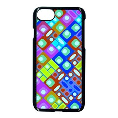Pattern Factory 32b Apple Iphone 7 Seamless Case (black) by MoreColorsinLife