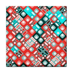 Pattern Factory 32d Face Towel by MoreColorsinLife