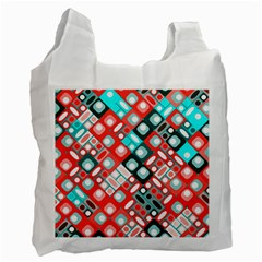 Pattern Factory 32d Recycle Bag (one Side) by MoreColorsinLife