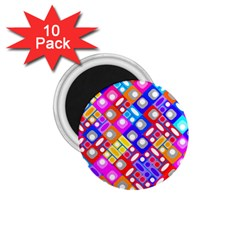 Pattern Factory 32a 1 75  Magnets (10 Pack)  by MoreColorsinLife