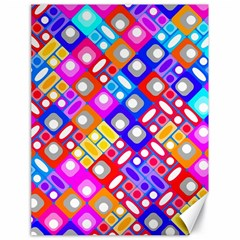 Pattern Factory 32a Canvas 18  X 24   by MoreColorsinLife