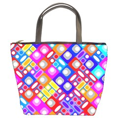 Pattern Factory 32a Bucket Bags by MoreColorsinLife
