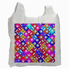 Pattern Factory 32a Recycle Bag (one Side) by MoreColorsinLife