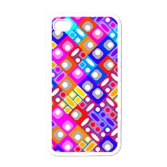 Pattern Factory 32a Apple Iphone 4 Case (white) by MoreColorsinLife